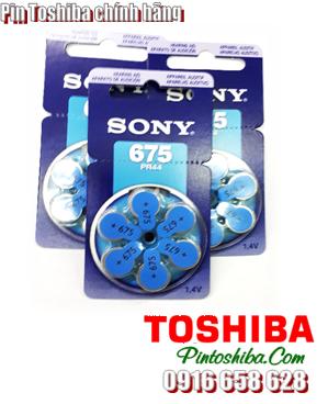 Toshiba PR44/675, Pin trợ thính Toshiba PR44/675, Pin máy điếc Toshiba PR44/675| CÒN HÀNG