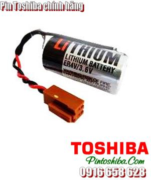 Toshiba ER4V, Pin PLC Toshiba ER4V size 2/3AA 1650mAh 3.6v chính hãng Made in Japan  CÒN HÀNG