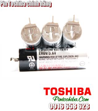Toshiba ER6V, Pin nuôi nguồn PLC Toshiba ER6V size AA 2000mAh 3.6v Made in Japan