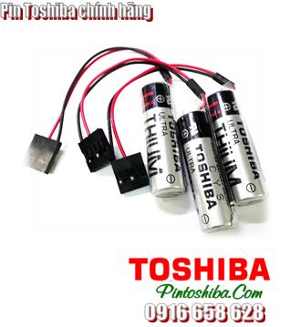 ER6VC3N, Pin Toshiba ER6VC3N lithium 3.6v size AA 2000mAh Made in Japan