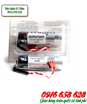 Omron CS1W-BAT01; Pin Omron CS1W-BAT01 lithium 3.6v 2700mAh| CÒN HÀNG