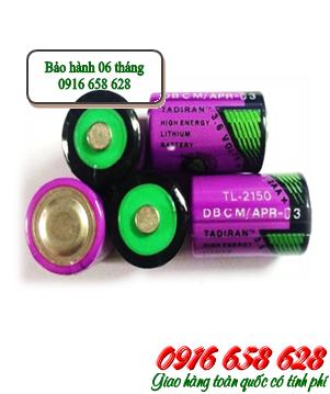 Tadiran TL-2150; Pin nuôi nguồn PLC Tadiran TL-2150 (1/2AA-1000mAh) lithium 3.6v