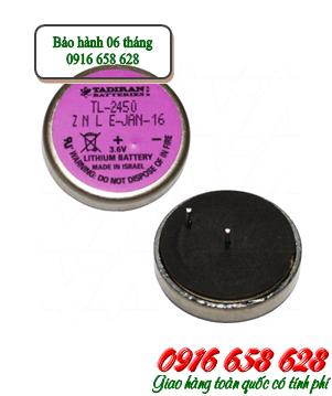 Tadiran TL-2450; Pin nuôi nguồn PLC Tadiran TL-2450 (550mAh lithium 3.6v)/ 24.5mmx5.8mm