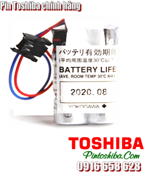Toshiba 2ER17500V; Toshiba 2ER17500V lithium 3.6v A 5400mAh Made in Japan| CÒN HÀNG